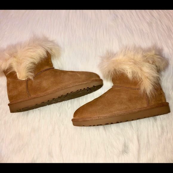 "ebf3a816e1d NWOT UGG ""Milla"" Boots, Size-9,Color-Chestnut"